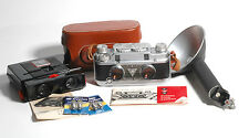 Vintage Stereo 35mm Outfit-TDC Vivid Tridar f3.5/35mm Lens,Vivid Deluxe Viewer+