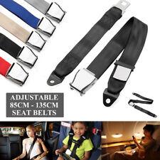 Adjustable Airplane Seat Safe Belt Plane Seatbelt Extender Aerospace Seat Belts