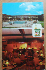 1971 PHOTO POSTCARD HOLIDAY INN MACON GEORGIA INTERSTATE 475 TO FORT WAYNE IN