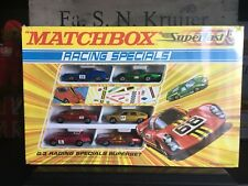 Matchbox Very Rares G-3E1.First Racing Specials Gift Set OVP mint/mint from 1970