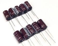 10 Stück Elkos Nippon 470µF / 50V 105°C Super LONG LIFE capacitor (M0795)