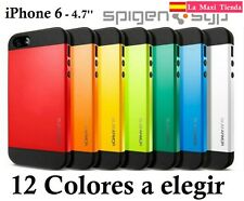 "Funda Slim Armor para ""Iphone 6S"" 4.7'' Carcasa Case Bumper Spigen 4,7 6"