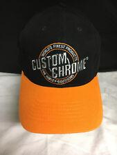 "Custom Chrome ""Products for Harley-Davidson"" BaseCap ,Mütze (56-62 verstellbar)"