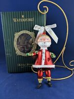"""Waterford Holiday Heirlooms Limited Edition """"YESTERYEAR SANTA"""" ORNAMENT"""