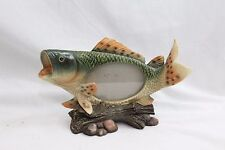 large mouth bass picture frame fishing 4 x 5