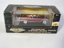1957 Mercury Turnpike Cruiser 1:43 American Muscle by Ertl Collections