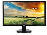NEW Acer K2 K242HYL 23.8 in. FullHD 1080p Widescreen LCD LED Monitor - Black