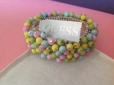 Guess Beautiful Beaded Stretch Bracelet