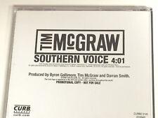 "TIM MCGRAW ""Southern Voice"" DJ PROMO CD 2009 1trk"