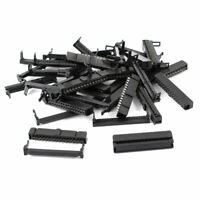 15 Pcs IDC Cable Connector FC-30P 30Pin Female Header 2.54mm Pitch