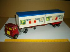 MATCHBOX-LESNEY Scammell Tractor Container Sattelzug K-17