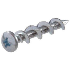 (1000) Powers Brand Wall Dog Phillips Pan Head Anchors Screws Drywall 2316