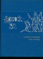 Detroit MI Catholic Central High School yearbook 1972 Michigan