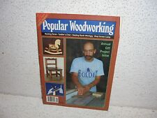 Popular Woodworking Magazine November 1992 RARE DIY