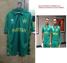 Champion's Champion Trophy 2017 Pakistan Cricket Team Jersey T-Shirt Half Sleeve