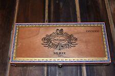 Wood Cigar Box Flor De Tabacos de Partagas 1845