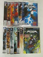 DC Comics Batman and Robin 1, 2,3, 4, 5, 6, 7, 8, 9, 10, 11, 12