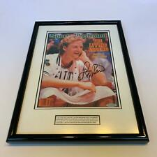 Larry Bird Signed Framed Sports Illustrated Magazine Upper Deck UDA Holo
