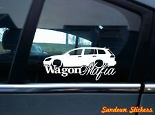 WAGON MAFIA sticker aufkleber - for  VW Golf 7 Variant, kombi mk7
