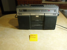 Vintage Radio Shack Realistic Scr-2 Boombox Radio Am/Fm Cassette Player - Works