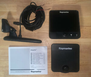 Raymarine Dragonfly 6 Display Unit With Transducer And Chart Card