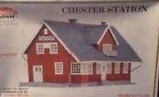 Vintage Unused Sealed Model Power HO Scale Chester Train Station Kit # 454