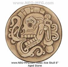 History Aztec Maya Mesoamerica Chichen Itza Skull plaque wall Sculpture Statue 6