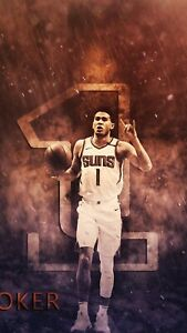 DEVIN BOOKER PHOENIX SUNS HIGH QUALITY GLOSSY POSTER PHOTO 12X18