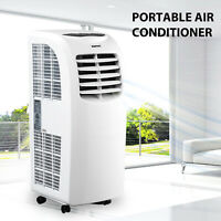 10000BTU Portable Air Conditioner Quiet Cooling AC Fan Dehumidifier Exhaust Kit
