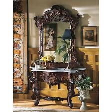 Design Toscano Hapsburg Console Table and Mirror Set