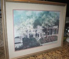"David Nichols, Signed Artist Proof, Framed and Matted 32x26"" Art Print"