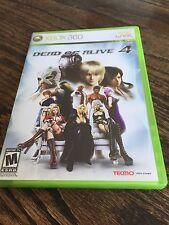 Dead Or Alive 4 Xbox 360 Cib Game XG3