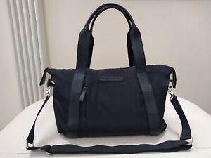 Storksak + Bugaboo Black Nylon And Leather Baby Changing Bag