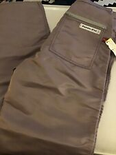 Panno D'or Vintage W Tags Parachute Pants Purple 32x34