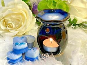BUY 4 GET 1 FREE 10, 15 HAND POURED HIGHLY SCENTED SOY WAX MELTS LARGE HEARTS 7g