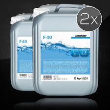 Vorteilspack Winterhalter Reiniger Glässerreiniger F40 2 X 12 Kg