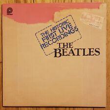 Beatles - Historic First Live Recordings NM- Lennon McCartney Vinyl LP 2TP-2098