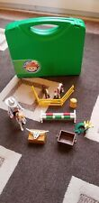 Playmobil Cowboy And Horses And Accessories