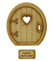 Wooden Fairy Door Large Fairy Garden Door Fairy Window Fairies Welcome Mat