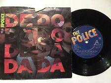 """THE POLICE 7"""" Vinyl Single 1980 DE DO DO DO DE DA DA DA **Free UK Postage**"""