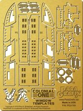 Battlestar Galactica - Colonial One Window Templates - PGX189