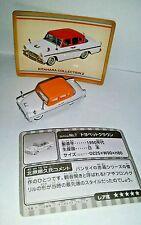 """TOYOPET CROWN CAR  #7 in """"Kitahara Collection 2"""" Mini VINYL replica Bandai 2003"""