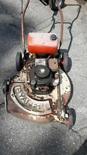 Vintage ryan21 antique push mower