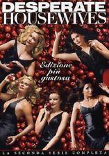 DESPERATE HOUSEWIVES - STAGIONE 2 (7 DVD) COFANETTO UNICO, ITALIANO, NUOVO