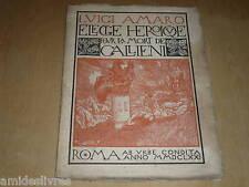 AMARO (Luigi) APOLLINAIRE Bois gravés MORINI EO 1918 EXEMPLAIRE DU PRESIDENT RF