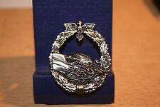 Pin Marine Kriegsmarine Schnellbootabzeichen   Metall Neu   236