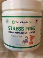 Pet Vitamin Co Stress Free Calming Soft Chews For Cats And Dogs 100 Soft Chews