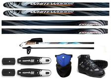 NEW EXPLORER XC cross country NNN SKIS/BINDINGS/BOOTS/POLES PACKAGE - 160cm