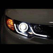 LED Line Projector Xenon HID Headlights For KIA Cerato Koup Forte Koup 2009~2012