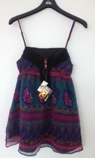 BNWT ROXY LADIES SIENNA BOHO STYLE MINI DRESS SIZE 14 RRP $79.99 SO PRETTY